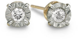 1/5 CT. T.W. Diamond Earrings