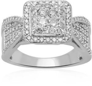 1ct TW Modern Bride Diamond Ring