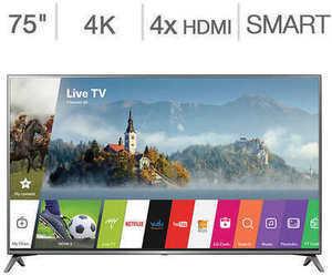 """LG 75"""" Class 4K Ultra HD LED LCD HDTV"""