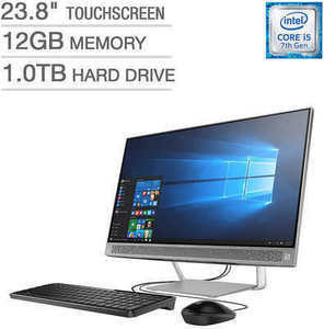 "HP Pavilion 24-b227c 23.8"" Touchscreen All-in-One Desktop"