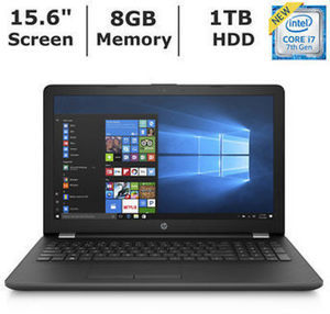 HP 15-BS078NR Laptop with Intel Core i7-7500U, 8GB RAM & 1TB HD
