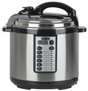 Bella 8-Qt. Digital Pressure Cooker