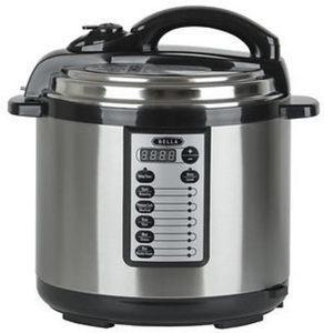 Bella 8-Qt. Digital Pressure Cooker
