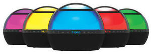iHome IBT175V2 Color-Changing Bluetooth Rechargeable Speaker
