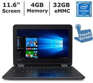 Lenovo N23 Convertible Laptop w/ Intel Celeron N3060, 4GB RAM & 32GB eMMC