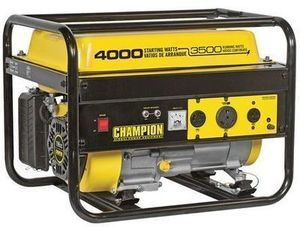 Champion 4000 Starting Watt Generator