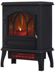 Duraflame Infrared Quartz Fireplace Stove in Black
