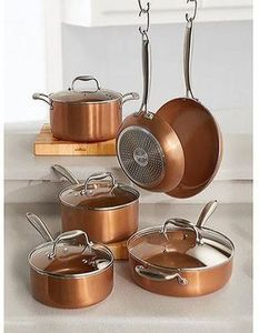 Gourmet Living 10 Piece Ceramic Cookware Set