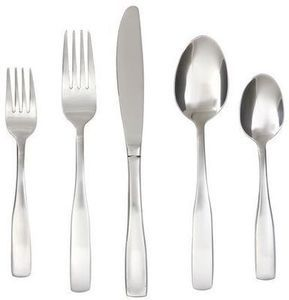 Cambridge Madison Satin 60 Piece Flatware Set with Buffet Server