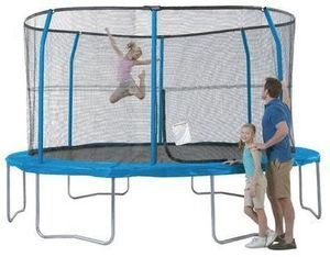 Jumpking 13' Trampoline w/ Enclosure