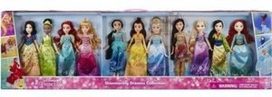 Disney Princess Shimmering Dreams Collection Dolls 11 Pack