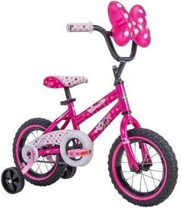 "12"" Disney Minnie Mouse Bike"