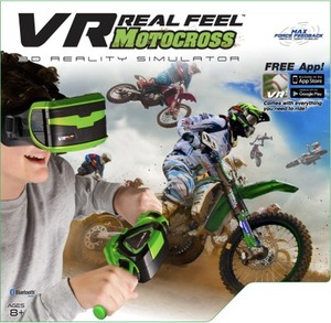VR Real Feel Motocross 3D Reality Simulator