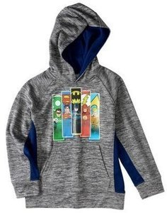 Boys' Justice League Character Poly Fleece Hoodie