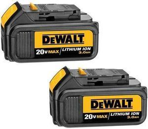 Dewalt Tools DCB200-2 20V Max Lithium Ion Battery Pack - 2 Pack
