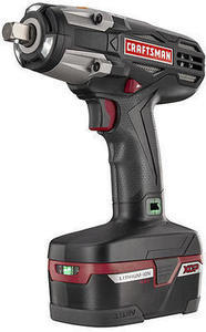 Craftsman ID2030K C3 1/2-Inch Heavy Duty 19.2V Cordless Impact Wrench Kit