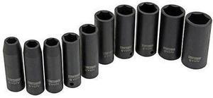 "Evolv 16886 10 pc. 1/2"" Drive Deep Impact Socket Set"