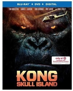 Kong: Skull Island Target Exclusive (Blu-ray + DVD + Digital)