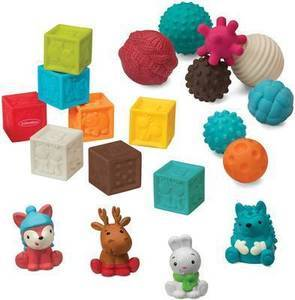 Infantino Go GaGa Balls & Blocks & Buddies Gift Set