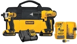 DeWalt Cordless 20 volts Compact Driver and Impact Driver