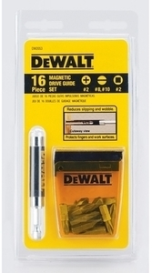 Dewalt 16 Piece Drive Guide Set