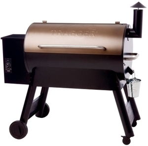 Traeger Pro Series 34 Wood Pellet 49 in. H Grill 36,000 BTU Bronze
