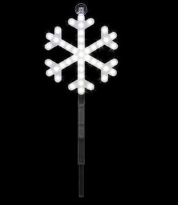 Santa's Best LED Snowflake Stake