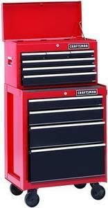 "Craftsman 26"" 2-Piece 13-Drawer Tool Chest"