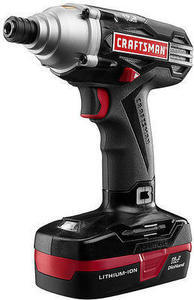 Craftsman C3 19.2V Lithium Ion 1/4-Inch Impact Driver Kit