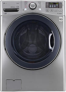 LG WM3770HVA 4.5 cu. ft. Front Load Washer w/ TurboWash