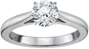 Tradition Diamond 1 Carat Certified Diamond 14K White Gold Ring