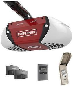 Craftsman 1/2 HP Chain Drive Garage Door Opener