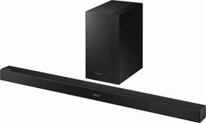 "Samsung 2.1-Channel Soundbar System with 6.5"" Wireless Subwoofer"