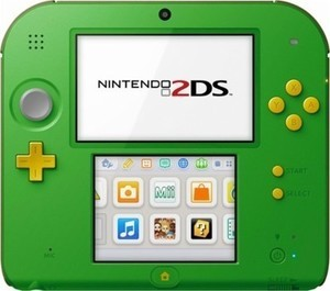 Nintendo 2DS with The Legend of Zelda: Ocarina of Time 3D