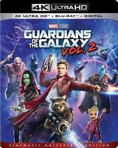 Guardians of the Galaxy Vol. 2 w Digital Copy [4K Ultra HD Blu-ray/Blu-ray]