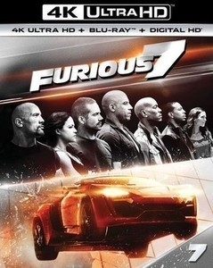 Furious 7 4K Ultra HD + Blu-ray + Digital