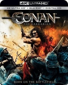 Conan the Barbarian 4K Ultra HD Blu-ray