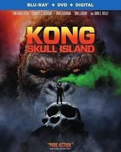 Kong: Skull Island [Includes Digital Copy] [Blu-ray/DVD] [2017]