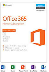 Office 365 Home for PC/Mac w/ PC Purchase