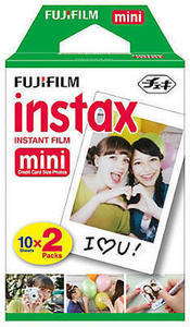 Fujifilm instax mini Film For instax mini Cameras, Pack Of 2, MINIFILMTWINPK Fujifilm Instax Mini Film