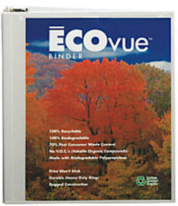 EarthView Premier Extended Cover Presentation Round-Ring Binder