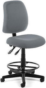 OFM Posture Series Fabric Task Chair With Drafting Kit