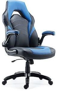 Staple Gaming Chair, Black & Blue