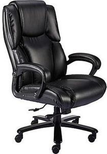 Staples Glenvar Bonded Leather Big and Tall Chair