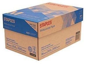 "Staples Multipurpose Paper 8 1/2"" x 11"" Case - After Rebate"