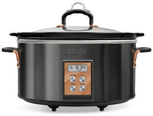Crux 6-Qt. Programmable Slow Cooker