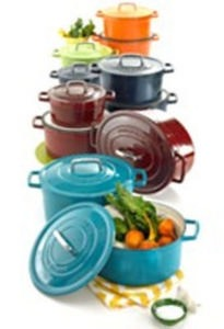 Martha Stewart Collection Collectors Enameled Cast Iron
