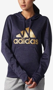 Metallic-Logo Fleece Hoodie, Macy's Exclusive Style