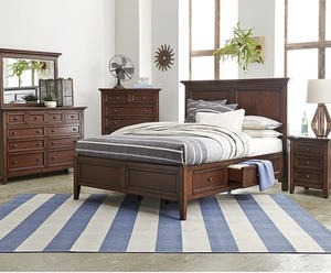 Matteo Storage Platform Bedroom Furniture Collection