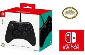 HORI Nintendo Switch HORIPAD Wired Controller Officially Licensed by Nintendo - Nintendo Switch